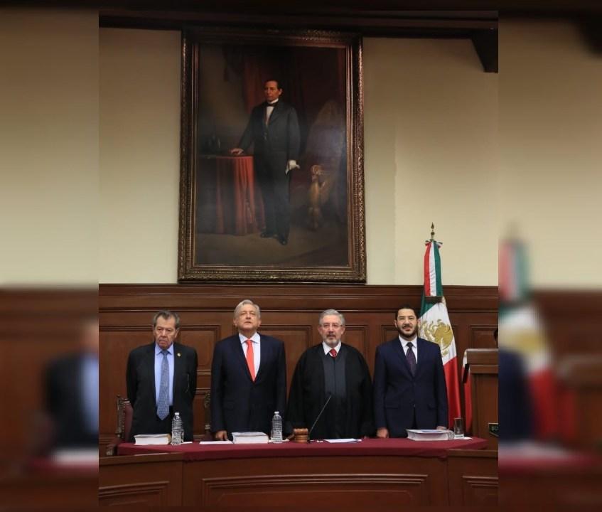 Presidente de SCJN defiende independencia de Poder Judicial