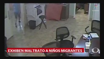 Arizona: Video Muestra Maltrato A Menores Migrantes, Arizona, Video Muestra, Maltrato A Menores Migrantes, Difundieron Imagines, Albergue Hacienda Del Sol, Southwest Key, Maltratando A Niños Migrantes