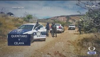 Asaltan camionetas de valores en Guanajuato