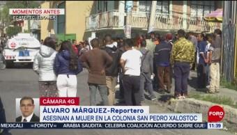 Asesinan a mujer en Ecatepec, Estado de México