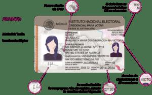 Aprueba INE nuevo modelo de credencial para votar