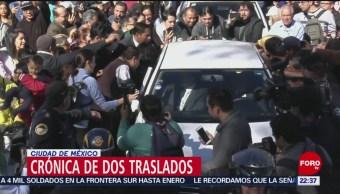 Así se trasladaron AMLO y Peña Nieto rumbo a San Lázaro