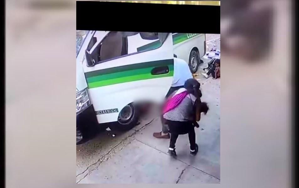 Atropellan familia en Chiapas