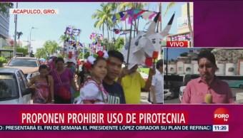 Autoridades En Acapulco Proponen Prohibir Uso De Pirotecnia, Autoridades En Acapulco, Prohibir Uso De Pirotecnia