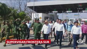 Autoridades Federales Recorren Instalaciones Migratorias Chiapas