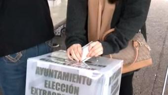Cierran casillas en elección extraordinaria en Monterrey