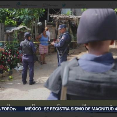 Balacera en Acapulco deja cinco muertos