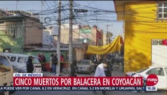 Balacera En Coyoacán Deja Cinco Muertos, Balacera, Coyoacán, Cinco Muertos, Dos Heridos, Alcaldía De Coyoacán