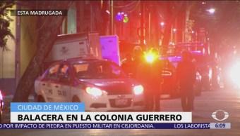 Balaceras en CDMX dejan una mujer muerta y tres heridos
