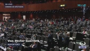 Cámara de diputados discute presupuesto de egresos