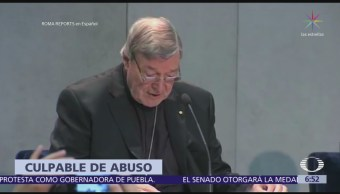 Cardenal George Pell, declarado culpable de abuso sexual