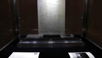 Carta de Dios, escrita por Einstein, subastada en 2.9 mdd