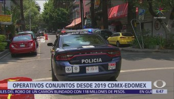 CDMX, Edomex y Gobierno federal harán operativos de seguridad conjuntos