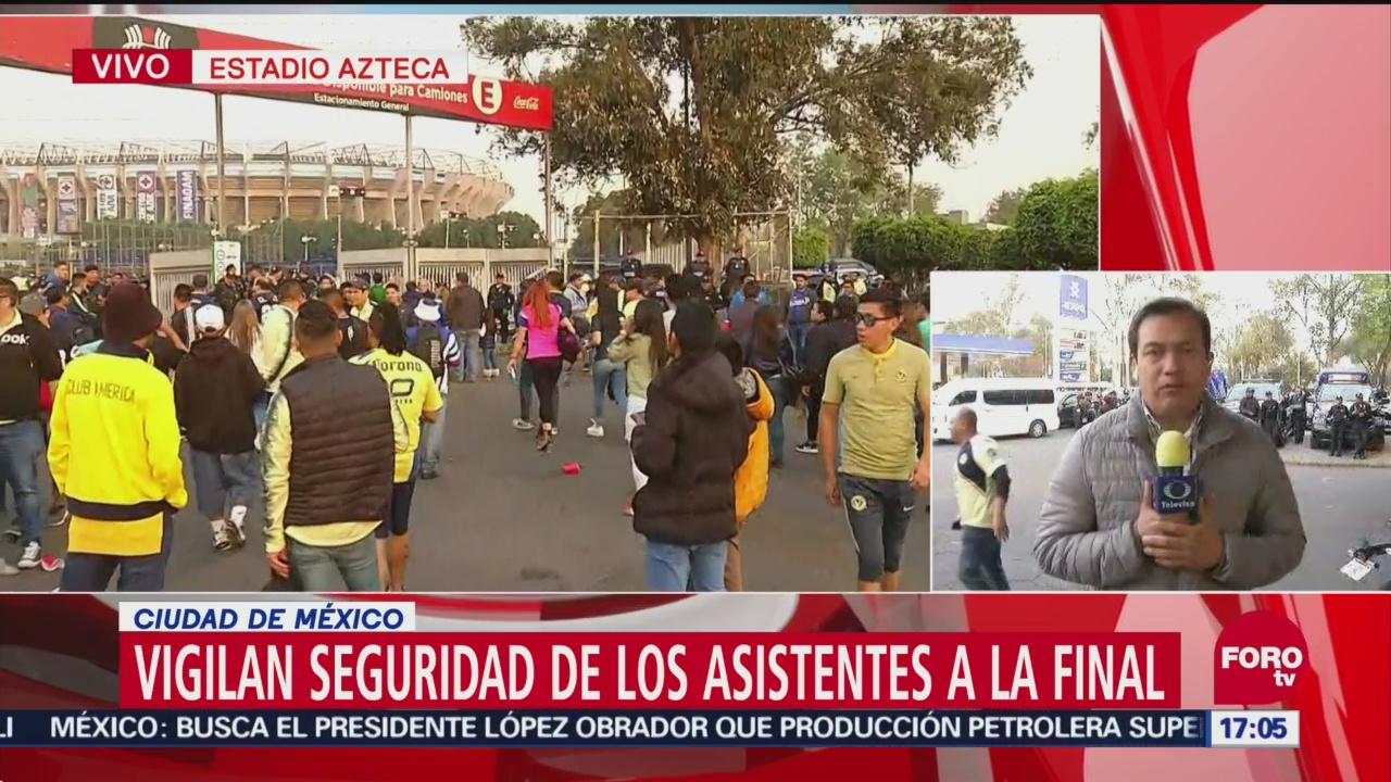 CDMX implementa operativo 'Estadio Seguro'