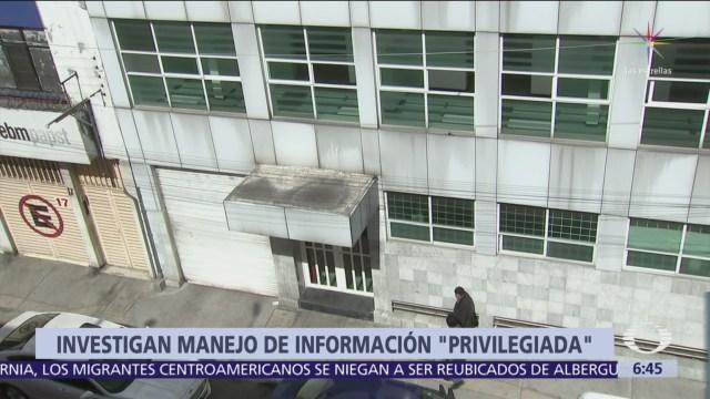 CDMX investiga presunto centro secreto de inteligencia y espionaje