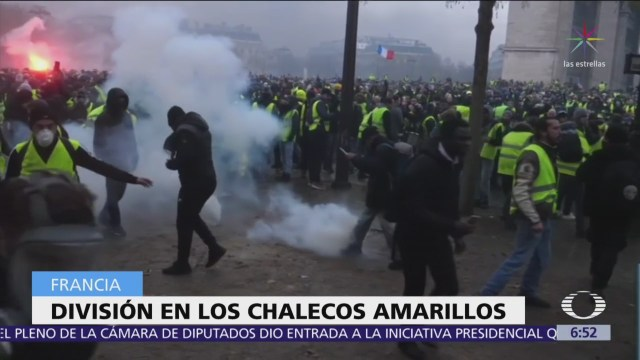 """""""Chalecos amarillos"""" acusan a Macron de organizar atentado en Estrasburgo"""