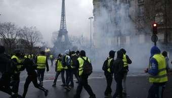 Quiénes son los chalecos amarillos que protestan en Francia