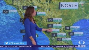Clima Al Aire: CDMX registrará cielo nublado y lluvias aisladas