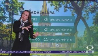 Siguen las bajas temperaturas en gran parte de México