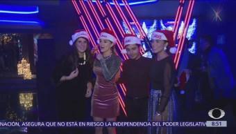 Coaches de 'La Voz México' celebran posada navideña