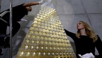 Alemania pone el árbol de Navidad más caro del mundo