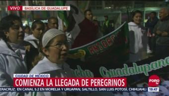 Comienza Llegada Peregrinos Basílica De Guadalupe