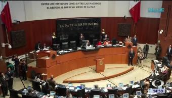 Comisión del Senado avala terna para Suprema Corte