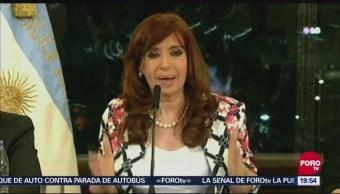Confirman Juicio Contra Cristina Kirchner Corrupción