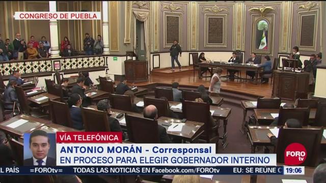 Congreso De Puebla Proceso Elegir Gobernador Interino