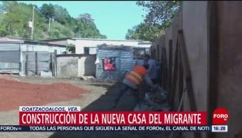 Construyen Albergue Para Migrantes En Coatzacoalcos