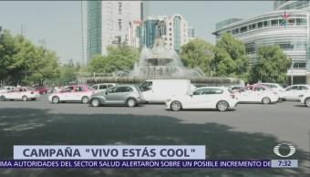 Cruz Roja Mexicana lanza campaña 'Vivo estás cool'
