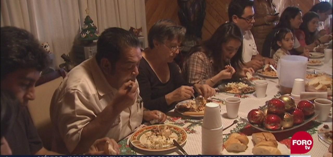 ¡Cuídate de los kilos de más durante estas fiestas navideñas!