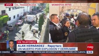 Descartan Más Víctimas En Explosión De Domicilio En Colonia Panamericana, Descartan Más Víctimas, Explosión De Domicilio, Colonia Panamericana, Ciudad De México