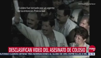 Desclasifican video del asesinato de Colosio