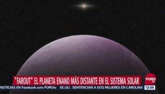 Descubren el cuerpo celeste más distante en el Sistema Solar