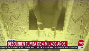 Descubren Tumba De 4 Mil 400 Años Egipto