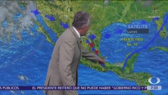 Despierta con Tiempo: Frente frío 16 genera tormentas fuertes