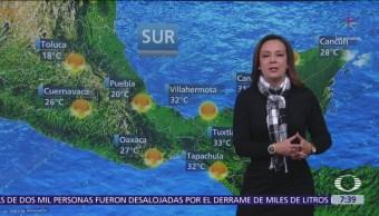 Se espera descenso de temperaturas en el norte y noreste de México