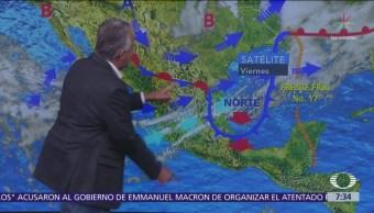 Despierta con Tiempo: Tormentas fuertes y frío generalizado en México