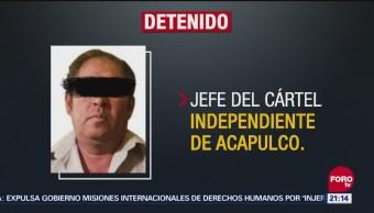 Detienen Toluca Jefe Del Cártel Independiente Acapulco