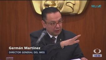 Director del IMSS presenta declaración patrimonial