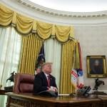 Estoy esperando a demócratas en Casa Blanca, dice Trump
