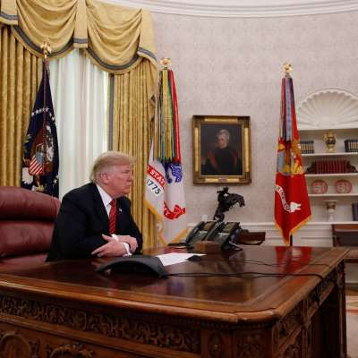 Trump cancela planes para Año Nuevo por cierre parcial del Gobierno
