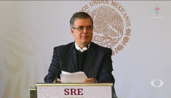 Ebrard Anuncia Acuerdo México EU Evitar Migración