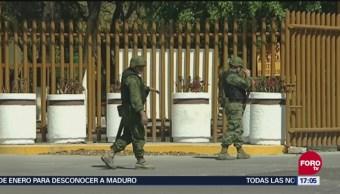 Ejército Resguarda Refinería De Salamanca Guanajuato