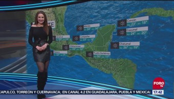 El clima con Mayte Carranco del 20 de diciembre de 2018