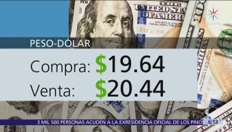 El dólar se vende en $20.44