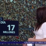 El número del día: 17 millones