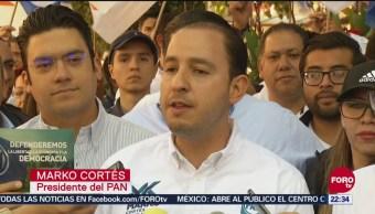 El PAN será una oposición firme: Marko Cortés