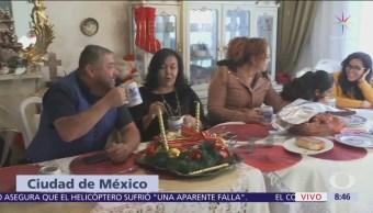 El tradicional recalentado de la cena de Navidad en México